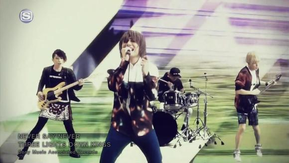 Download THREE LIGHTS DOWN KINGS - NEVER SAY NEVER [720p]   [PV]