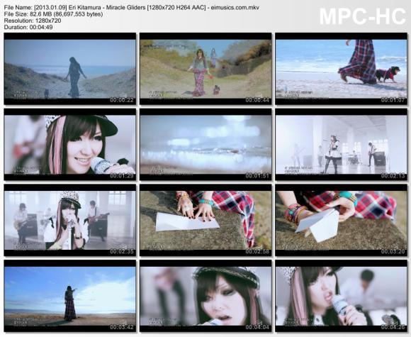 Download Eri Kitamura - Miracle Gliders [720p]   [PV]