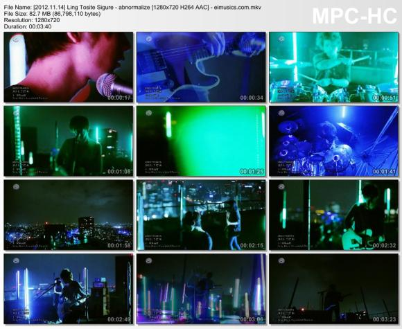 Download Ling Tosite Sigure - abnormalize [720p]   [PV]