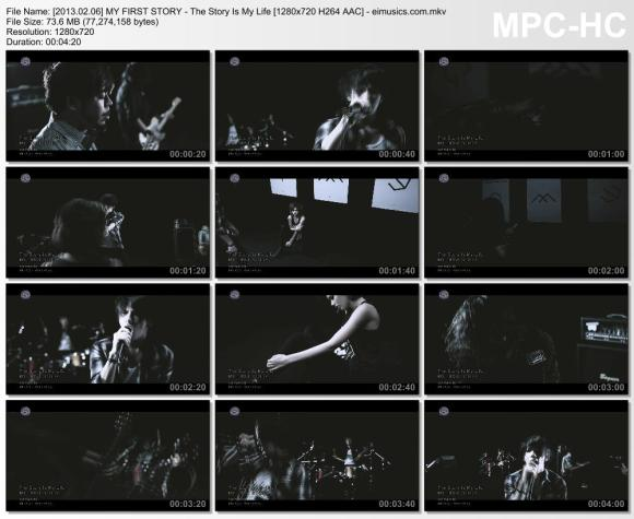Download MY FIRST STORY - The Story Is My Life [720p]   [PV]
