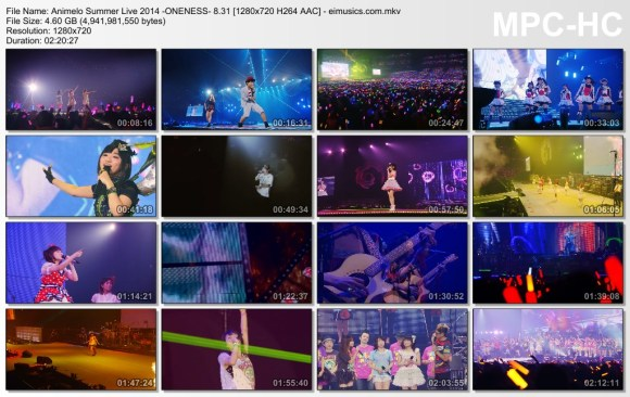 Download Animelo Summer Live 2014 -ONENESS- 8.31 [720p]   [Concert]