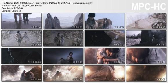 Download Aimer - Brave Shine [720x364   [PV]