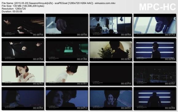 Download SawanoHiroyuki[nZk] - scaPEGoat [720p]   [PV]