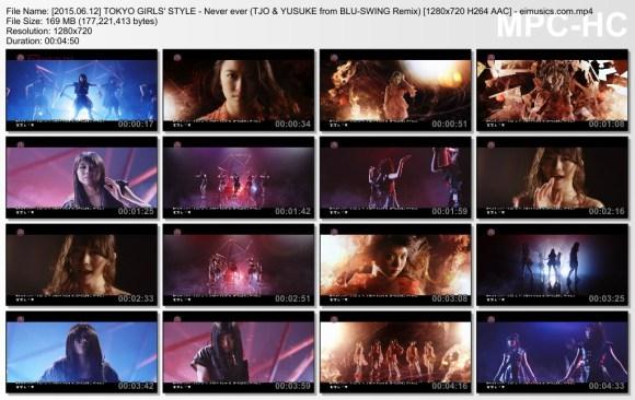 TOKYO GIRLS' STYLE - Never ever (TJO & YUSUKE from BLU-SWING Remix)