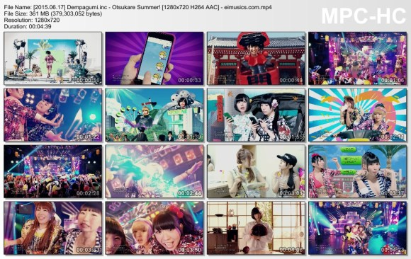 Download Dempagumi.inc - Otsukare Summer! [720p]   [PV]