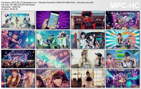 Download Dempagumi.inc - Otsukare Summer! [720p]   [PV]