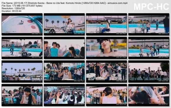 Download Shishido Kavka - Bane no Uta feat. Komoto Hiroto [720p]   [PV]