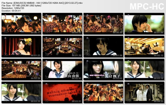 [EIMUSICS] NMB48 - HA! [720p]   [2013.02.27].mkv_thumbs_[2015.07.30_02.51.19]