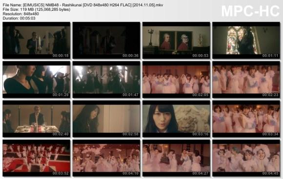 [EIMUSICS] NMB48 - Rashikunai (DVD) [480p]   [2014.11.05].mkv_thumbs_[2015.07.30_03.13.12]