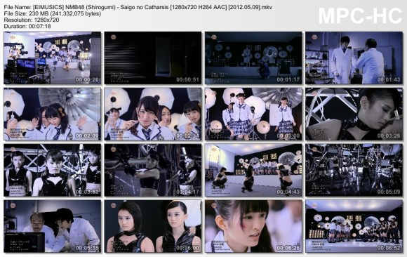 [EIMUSICS] NMB48 (Shirogumi) - Saigo no Catharsis [720p]   [2012.05.09].mkv_thumbs_[2015.07.30_03.27.33]