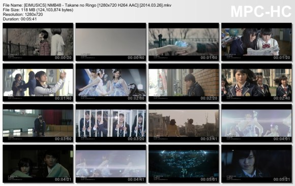[EIMUSICS] NMB48 - Takane no Ringo [720p]   [2014.03.26].mkv_thumbs_[2015.07.30_03.16.48]