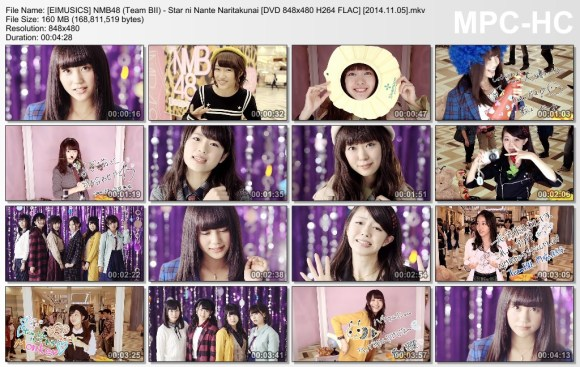[EIMUSICS] NMB48 (Team BII) - Star ni Nante Naritakunai (DVD) [480p]   [2014.11.05].mkv_thumbs_[2015.07.30_03.28.28]