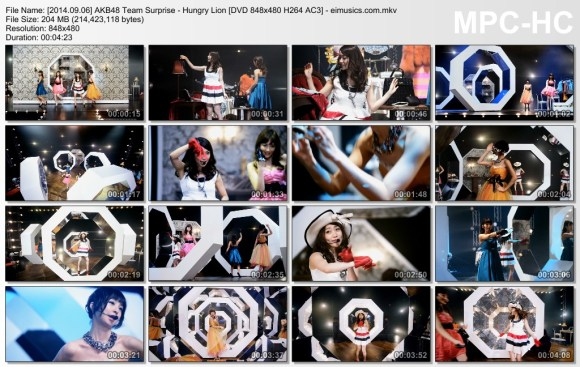 [2014.09.06] AKB48 Team Surprise - Hungry Lion (DVD) [480p]  - eimusics.com.mkv_thumbs_[2015.08.12_19.45.32]