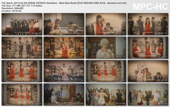 [2015.05.20] AKB48 (WONDA Senbatsu) - Bare Bare Bushi (DVD) [480p]  - eimusics.com.mkv_thumbs_[2015.08.18_06.08.13]