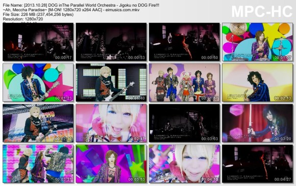[2013.10.28] DOG inThe Parallel World Orchestra - Jigoku no DOG Fire!!! ~Ah, Meccha Paradise~ (M-ON!) [720p]   - eimusics.com.mkv_thumbs_[2015.09.12_20.47.31]