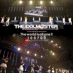 THE IDOLM@STER – THE IDOLM@STER 5th ANNIVERSARY The world is all one!! (BD) [720p] [Concert]