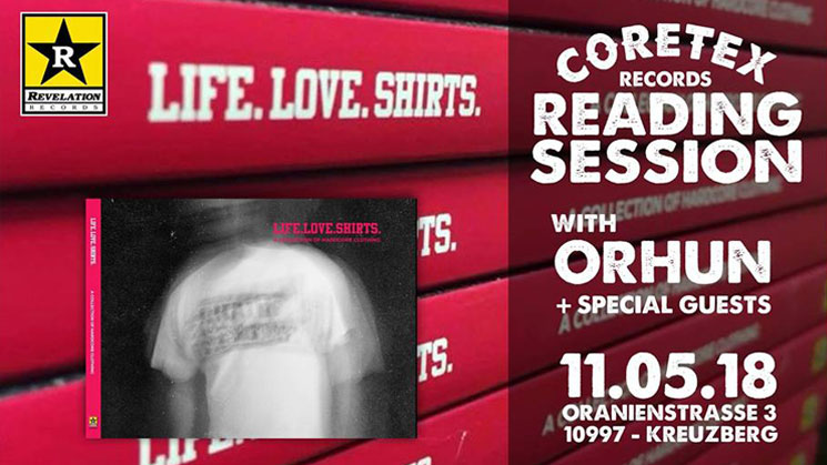 CORETEX READING SESSIONS – LOVELIFESHIRTS