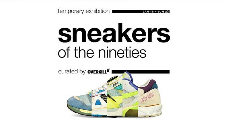 SNEAKERS OF THE NINETIES – TEMPORARY EXHIBITION