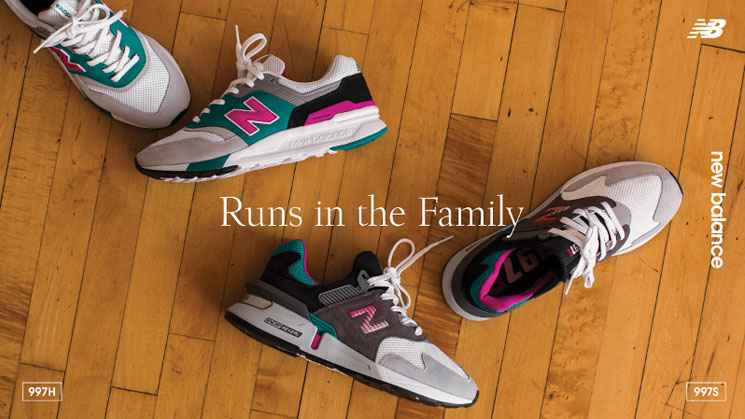 NEW BALANCE - RUNS IN THE FAMILY KAMPAGNE