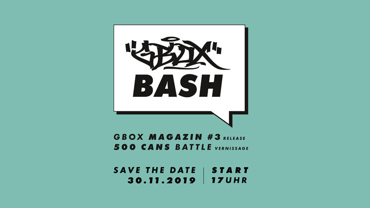 G-BOX BASH! IM GRAFFITIBOX SHOP