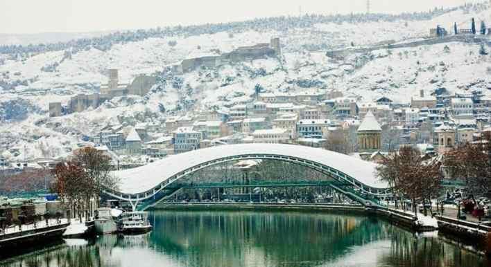 الشتاء في تبليسي