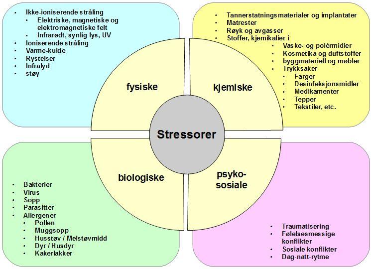 Fig 1 Stressorer