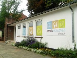 Stadtbibliothek Einbeck an der Dr.-Friedrich-Uhde-Straße. Foto: Stadt Einbeck