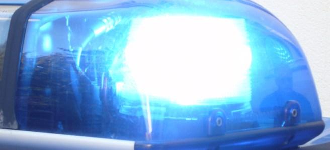 Blaulicht Polizei. Symbolfoto: Frank Bertram