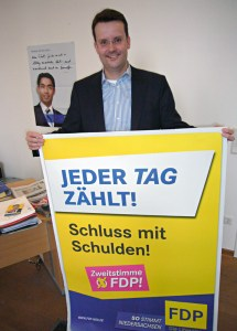 Schluss mit Schulden: Das wollte zu Jahresbeginn auch Christian Grascha (Einbeck), bis zuletzt sammelte er Unterschriften.
