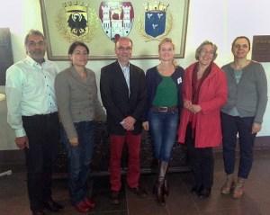 Michael Neugebauer, Filiz Polat, Ulrich Harteisen, Viola von Cramon, Babette Scurell, Karen Pollok.