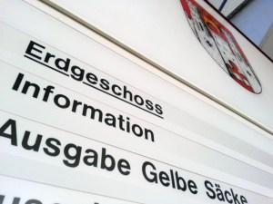 Muss der Wegweiser im Einbecker Rathaus bald umgeschrieben werden?