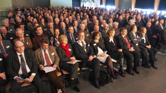 Volles Haus beim Gildentag im Forum des Berufsbildenden Schulen in Einbeck.
