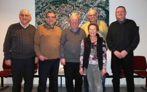 Der neue Vorstand des Einbecker Seniorenrates (v.l.): Paul Traupe, Hein-Peter Balshüsemann, Wolfgang Keunecke, Lothar Dolle, Dietlind Ostermann, Jürgen Steinhoff.