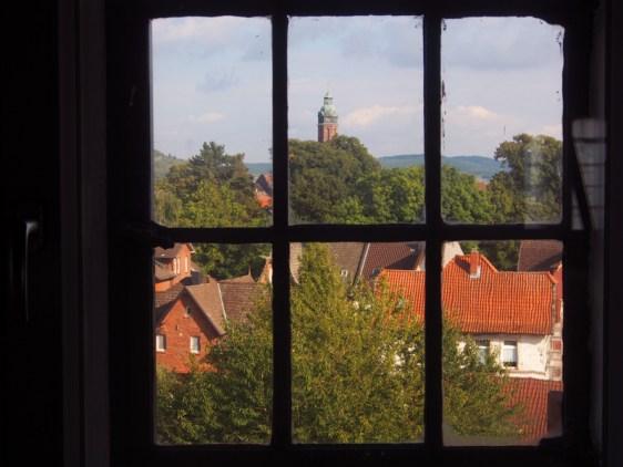 Die Marktkirche, vom PS-Speicher im Kornhaus aus gesehen.