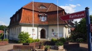 Dort will Minkner hinein: das Rathaus von Hankensbüttel.