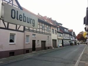 Die Oleburg ist seit mehr als 20 Jahren Fußgängerzone. Archivfoto Oktober 2015