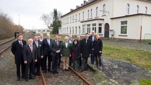 Hier soll im Dezember der erste planmäßige Personenzug nach 42 Jahren Pause fahren.