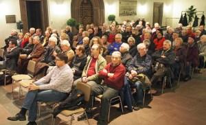 Sehr gute Resonanz fand die Präsentation der Planungsempfehlungen im Alten Rathaus.