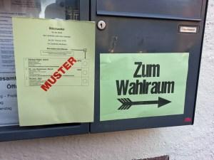 Noch bis 18 Uhr sind die 209 Wahllokale im Landkreis Northeim geöffnet.