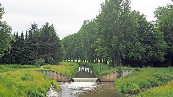 Kein Kulturstau am Alten Zollhaus mehr: Der Leineverband will die Ilme bei Einbeck aus ihrem kanalartigen Korsett befreien und naturnaher gestalten.