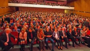 Nicht immer ist das Wilhelm-Bendow-Theater so gut gefüllt wie hier. Archivfoto
