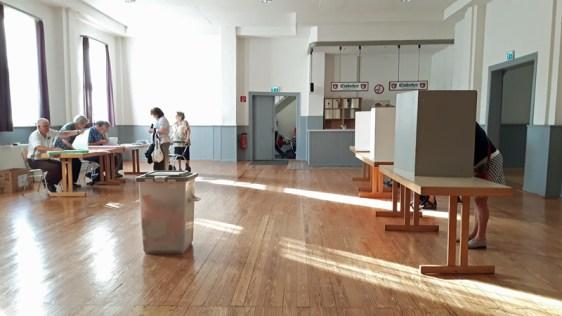 In 62 Wahllokalen in Einbeck konnten die 27.000 Wahlberechtigten über die Zusammensetzung des neuen Stadtrates abstimmen.
