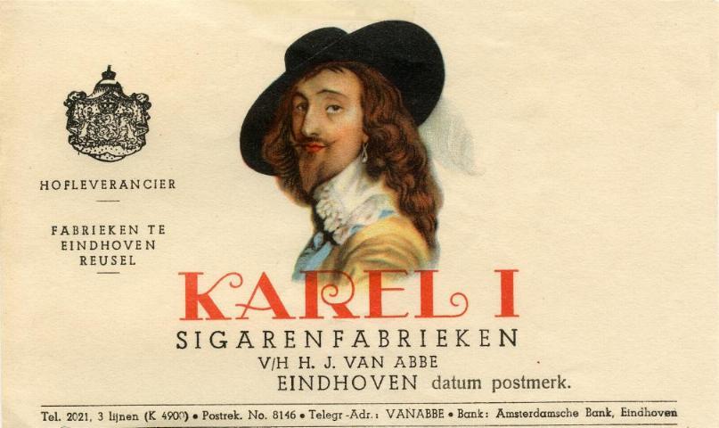 Karel I cigars box
