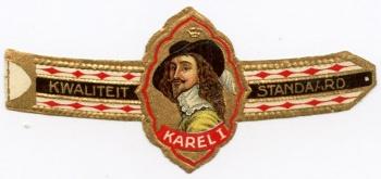 Karel I cigar band