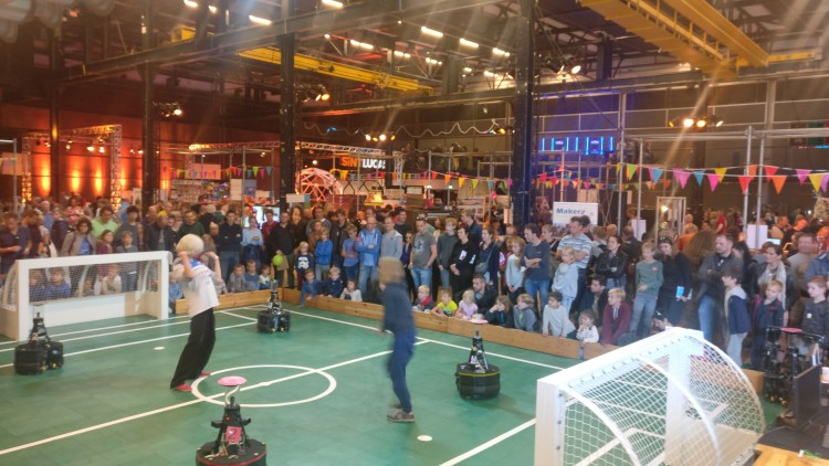 Robot voetballers