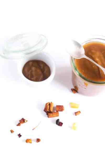 Apfelmus mit Zimt und Vanille