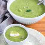 Brokkoli-Estragon Süppchen. Easy to make, simple but delicious. recipe also in english. ww.einepriselecker.de