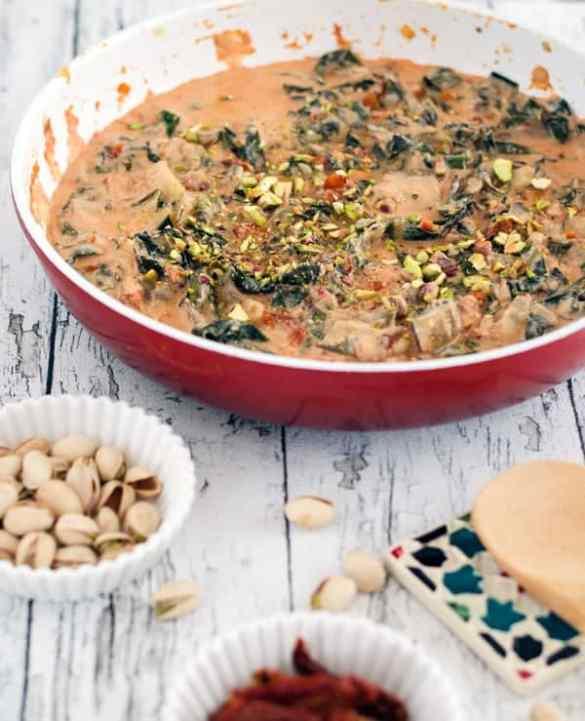 Ricotta-Mangoldsauce. Ein bisschen Sommer auf dem Teller! Recipe also in english.www.einepriselecker.de
