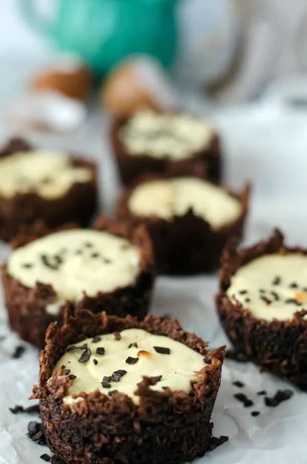 sweet cheesecakenest. Cute for easter. Recipe also in english! www.einepriselecker.de