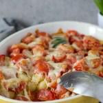 Vier Zutaten Gnocchi-Auflauf mit Tomate und Mozzarella. Vegetarisch und super lecker! Feierabendküche, Souldfood. Recipe also in english!